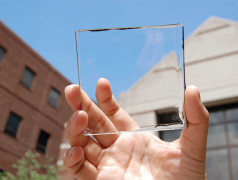 Free electricity from transparent coating, soon? (image courtesy MSU)
