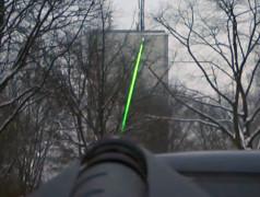 HyperLOG Antenna with Laserscope (option)