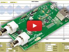 Oscilloscope, spectrum analyzer and signal generator in one