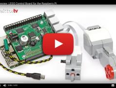 LEGO Motors Control Board for the Raspberry Pi