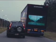 Safer roads with the see-through truck