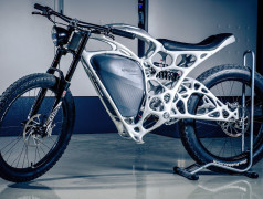 World's first 3D printed electric motorbike
