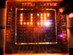 World First: 80,000 cd/m2 LED detects light too
