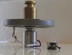 Micro robots pull heavy weights