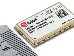 The industry's smallest module available in the market today (16 x 26 mm), offering both LTE Cat M1 and Cat NB1 in a single hardware package.