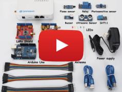 My Things on Internet through LoRa & Arduino