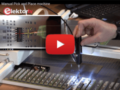 Elektor.TV | Camera-Assisted Manual Pick and Place Device
