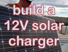 Build a t-tiny solar battery charger