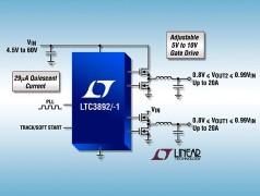 Dual output regulator from Linear Tech