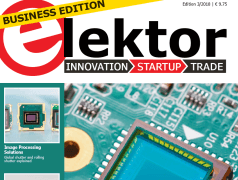 Elektor Business Edition 3/2018 Now Available: Sensors & Measurement