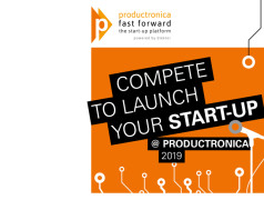 Startups in electronics: get pole position for Fast Forward @ productronica 2019