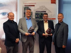 "Rutronik at the Top of the Podium for the First Time after Being Named ""Best Mainboard Distributor 2018"" by Fujitsu"