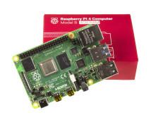 RaspberryPi4 (4 GB RAM) has arrived.