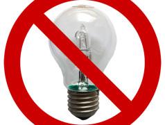 High-voltage halogen lamps banned starting 1 September