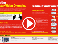 Did you join the Elektor Video Olympics yet?