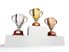 Elektor Video Olympics 2017 - the gold, silver and bronze medallists