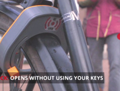 Re-Lock: keyless automatic bike lock