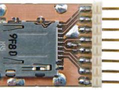 MicroSD-Kartenhalter