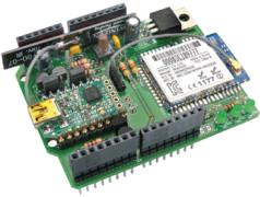 WLAN/Bluetooth/USB-Kombi-Shield für Platino und Arduino