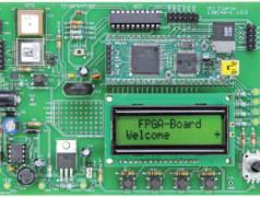 Erweiterungsplatine für das FPGA-Board