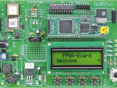 Erweiterungsplatine für das FPGA-Board (Teil2)