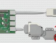 LEGO® Control-Board für Raspberry Pi