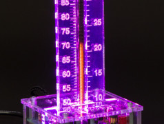 Nixie-Bargraph-Thermometer