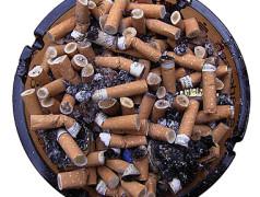 Gebrauchte Zigarettenfilter für Supercaps