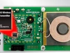 Single-Chip-Sender zur drahtlosen Stromübertragung