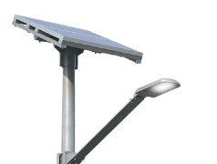 Selbstlernende LED-Straßenbeleuchtung mit Solarspeisung spart Energie