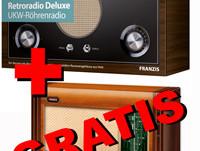 UKW-Röhrenradio bestellen und KW-Retroradio GRATIS erhalten!