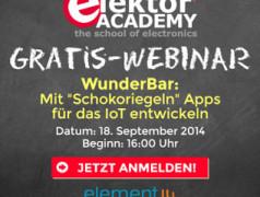 Neues Webinar: WunderBar – das IoT-Tool für die App-Entwicklung