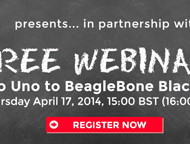 Neues Webinar: From Arduino Uno to BeagleBone Black (and back)