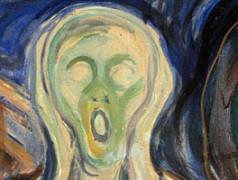 Der Schrei von E. Munch