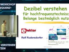"""Gratis für Elektor-Leser: Videokurs """"Hochfrequenztechnik"""" (Teil 1)"""