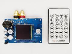 """NanoSound DAC 2 Pro für RPi mit 1,5""""-Farb-OLED"""