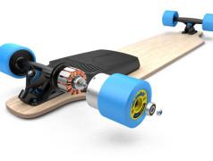 Nachrüst-Antrieb für Skateboards