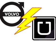 Es geht los: Uber will selbstfahrende Volvos kaufen