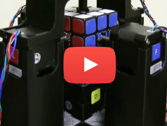 Rubik's Cube schneller gelöst als ausgesprochen