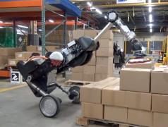 Roboter-Modell Handle 2.0 von Boston Dynamics. Bild: Screenshot aus Video von Boston Dynamics.