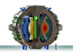 ARC-Modell eines kompakten Fusionsreaktors. Bild: MIT / Alexander Creely