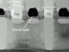 6-Transistor-SRAM-Zellen in 5-nm-Technik. Bild: Imec.