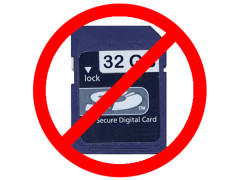 Gefälschte SD-Karten