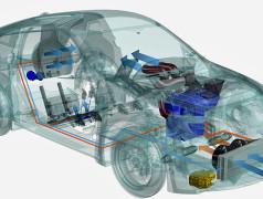 Effiziente Klimaanlage für Elektroautos
