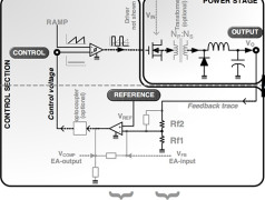 Voltage- and Current-Mode Control for PWM Signal Generation in DC-to-DC Switching Regulators