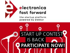 electronica Fast Forward 2018: Die Startup-Plattform, powered by Elektor