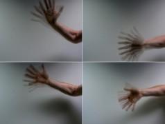 Wenn flackerndes Licht auf ein bewegtes Objekt fällt, ist der Effekt als eine Reihe von Standbildern sichtbar. Dies wird als Stroboskopie-Effekt bezeichnet. (Foto: Gosia Perz)