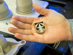 Hochfeste Stahlteile aus dem 3D-Drucker. Bild:US Army / David McNally.