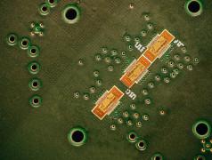 Die kompakten 1400-GHz-Radarchips von Imec erkennen kleine Bewegungen wie den Herzschlag. (Foto: Imec)