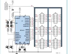 Projekt-Nr. 4: LED-Uhr mit AVR